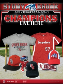 18 x 24 Poster Promoting New Baseball Merchandise at Seawolves MarketPlace