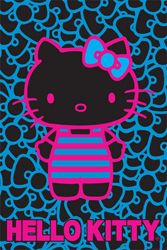 Sanrio Hello Kitty Poster designed for Hot Topic