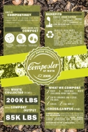 20x30 Earthstock Booth Composting Posterboard