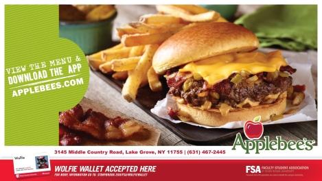 Applebee's Wolfie Wallet Ad