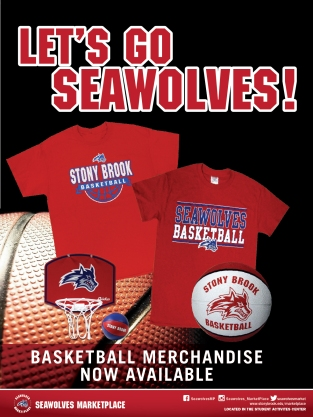 Stony Brook Seawolves Basketball Merchandise