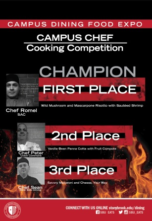 Food Competition Graphic