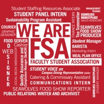 TShirt Design for Faculty Student Association Student Employees