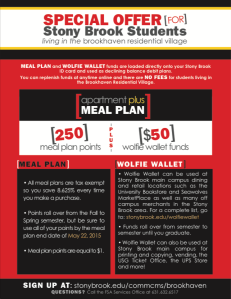 Meal Plan Fact Sheet SBU