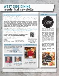 Residential Newsletter