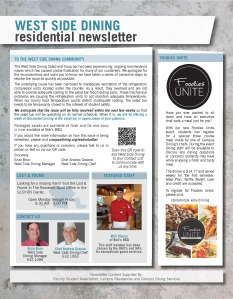 Residential Newsletter