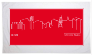 NC State University Housing Beach Towel Designs