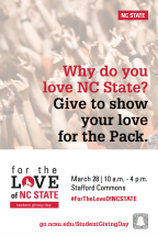 Student Giving Day at NC State University