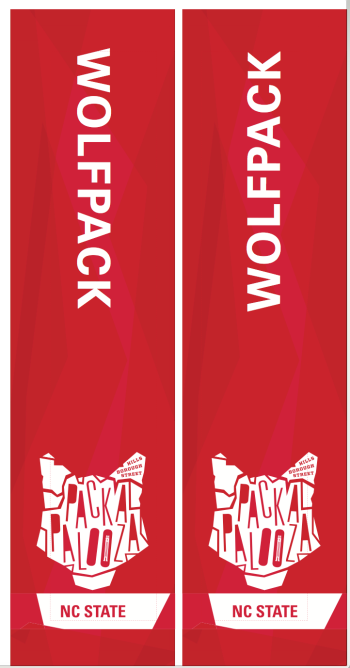 Packapalooza Design for Festival Day - NCSU